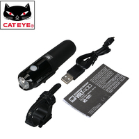 CATEYE Bicycle Bike Handlebar Helmet Front Lights Cycling Riding Safety Light Lamps Bikes Portable LED Light