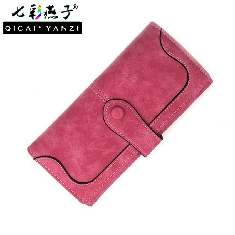 2017 9 Colors New Women PU Leather Purse Long Popular Fashion Lady Wallet Handbags Card Holder Bags billeteras para mujer N697 2015 hot sale women wallets lady women wallet bag popular purse long pu handbags card holder birthday bags party