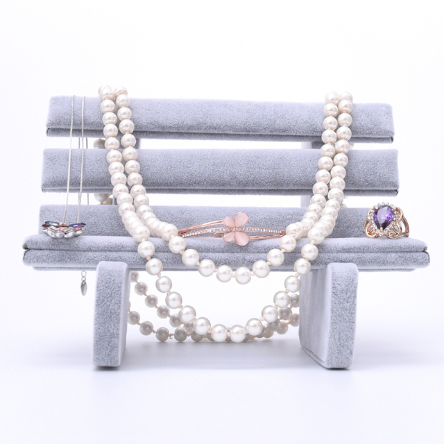 New Fashion Jewelry Display Holder Jewellery Stand Earrings Pendant Necklace Showcase