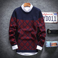 Round neck sweaters in the fall and winter of 2016 men Cultivate one's morality of youth sweater