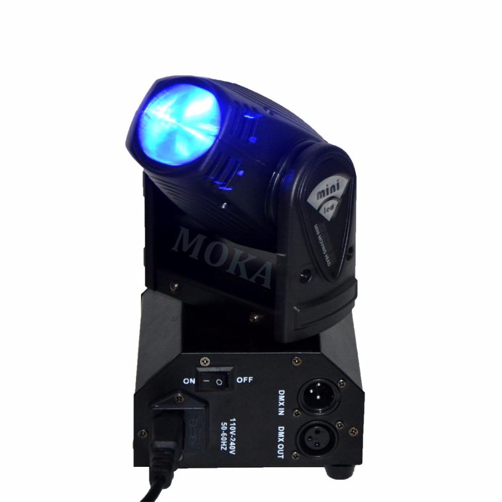10W MINI LED MOVING HEAD LIGHT 1