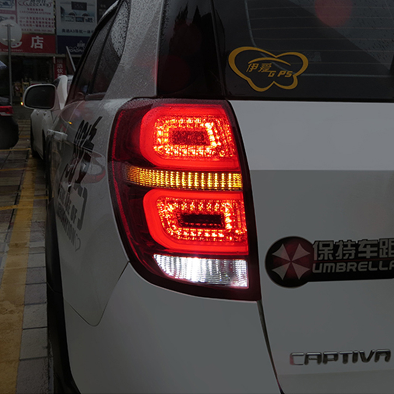 Car styling Stop Tail light For Chevront Captiva 2008 2014 Led Tail lamp Rear Lamp back