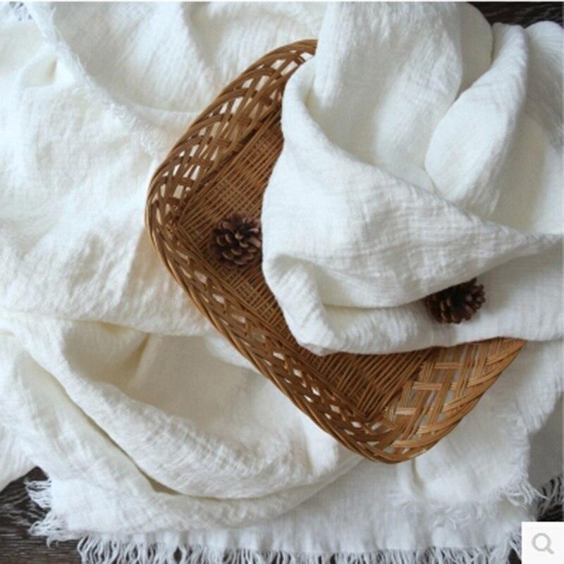 Manta de lino blanco puro, manta de verano, edredón fresco, ropa de cama, ropa de cama, mantas decorativas y mantas para el hogar - 3