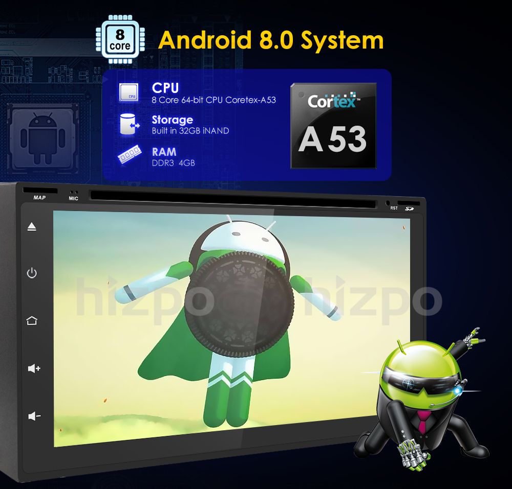 Universal reproductor Android8.0 descuento 4