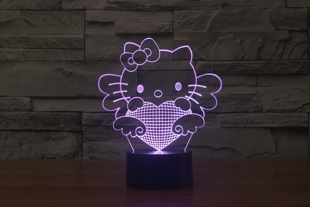 Totoro Super Mario 3D LED Decoration Lamp Toy