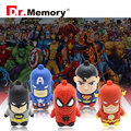 USB flash drive super hero USB disk 32g iron man pen drive the avengers usb flash shield pendrive captain America USB2.0