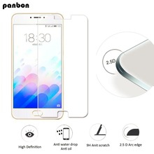 Panbon Original Protective glass on Meizu M3 Note  tempered glass film For Meizu M5 Note screen protector Toughened