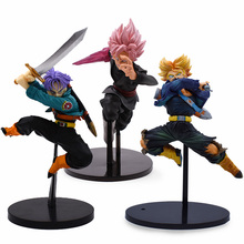 3 Style 15-24cm Dragon Ball Z BWFC Super Saiyan Trunks Son Goku Figure PVC Action Figure Model Dragonball Trunks Kids Toys