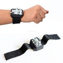 Супер Сильный магнитный браслет, Портативная сумка для инструментов, электрик, ремень для запястья, шурупы для ногтей, сверла, коробка для хранения инструментов