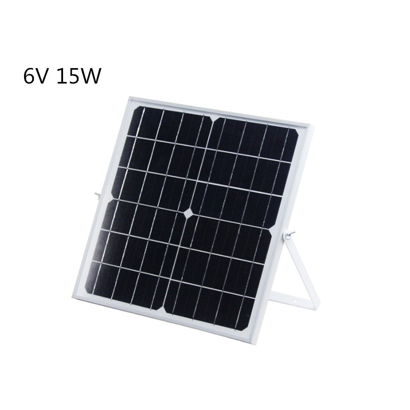 6v 15w 2 5a Monocrystallinemono Solar Panel With Support For Photovoltaic Panels Mobile Phone Charging Treasure Suburbs Solar Cells Aliexpress