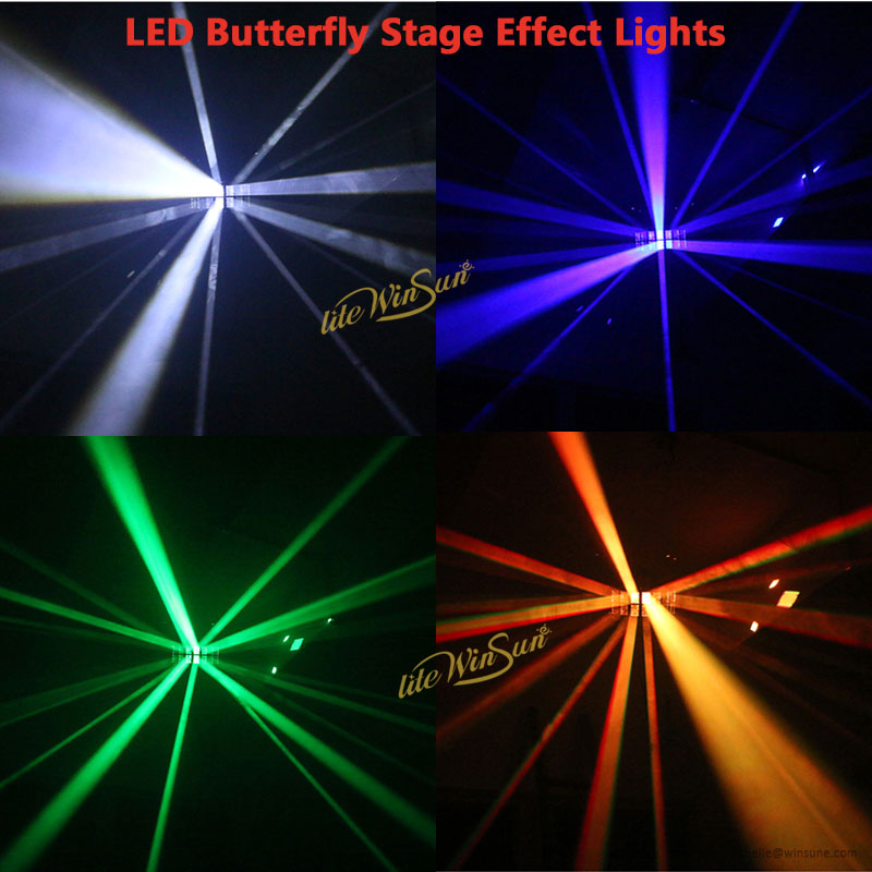 cheap LED Butterfly Lights DJ Stage Effect Lights