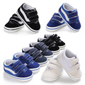 Infant toddler baby Boy Girl Shoes Soft sole 0-6 6-12 12-18M baby moccasins Canvas shoes first walkers sport shoes hot sell
