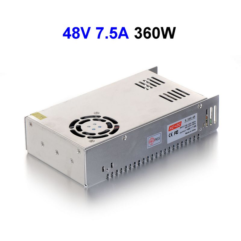 20pcs AC110 220V To DC48V 7 5A 377 5W Switching Power Supply Driver Transformer For LED