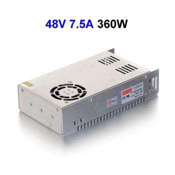 20 sztuk AC110/220 V do DC48V 7.5A 377.5 W zasilacz impulsowy transformator kierowcy na wyświetlacz LED LED String CCTV