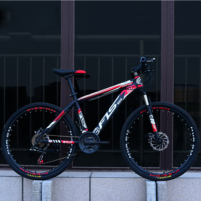 26 Inch Mountain Bike 21 24 27 Speed Men And Women Disc Brakes Bike