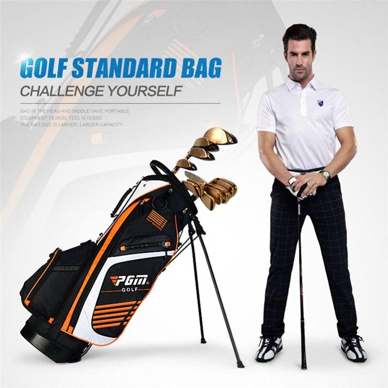 Ultra Léger! PGM sac de Golf hommes Caddy chariot de Golf trépied Rack trucs sac de Golf femmes support pistolet Stand sac 14 douilles D0069