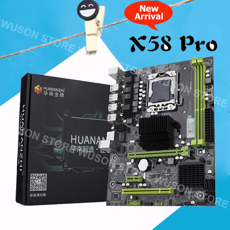 Discount motherboard on sale HUANAN ZHI X58 Pro motherboard for X5675 X5680 X5690 USB3.0 RAM DDR3 2 channels max 2*16G memoryDiscount motherboard on sale HUANAN ZHI X58 Pro motherboard for X5675 X5680 X5690 USB3.0 RAM DDR3 2 channels max 2*16G memory