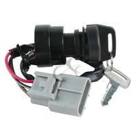 Ignition Switch Key For Yamaha GRIZZLY 660 YFM660 2002 2008 03 04 05 06 07 ATV