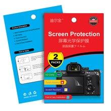 Película protectora de pantalla LCD para Sony A6500 A6300 A6000 A7C A9 A7S A7R Mark II A7III A7RIII A7SII RX10 RX100 III IV V VI VII, 2 uds.