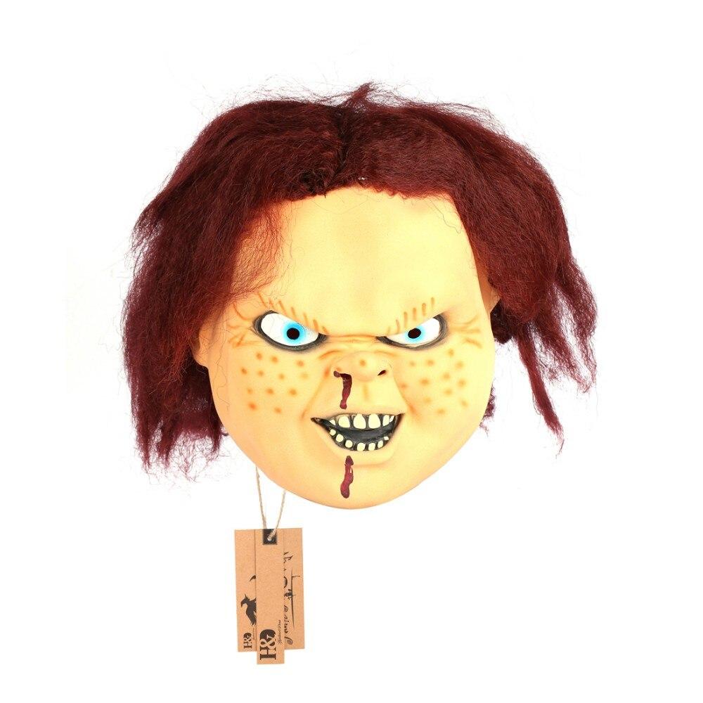 Popular Chucky Halloween Mask-Buy Cheap Chucky Halloween Mask lots ...
