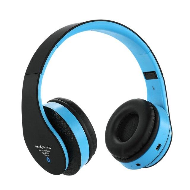 Blutooth Wireless Cordless Headphone Headphone Casque Audio Bluetooth  Earphone Besar Untuk Kepala Anda Telepon Headset Komputer 1edd182bfe