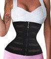 Zipper Hook Waist Trainer Slimming Belt Underbust Corset Long Torso Waist Cincher  Trimmer Shaper Slimmer Fitness Girdle