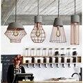 LukLoy Pingente de Luz Da Lâmpada, criativo Moderno Molduras De Concreto De Cimento Gota Luzes de Iluminação para sala de Jantar Sala de estar Decoração