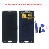 For SAMSUNG GALAXY A3 2017 LCD A320 SM A320F A320F Display Touch Screen Digitizer Assembly Replacement