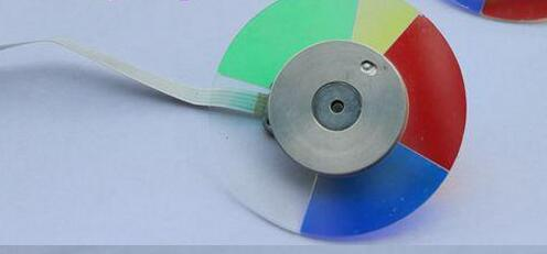 Projector Color Wheel For OPTOMA DM13 DM15 projector color wheel for optoma x303 free shipping
