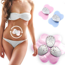 Brand New Mini Butterfly Design Body Muscle Massager Electronic Slimming Massager For Fitness 4 LED Lights Display  @ME88