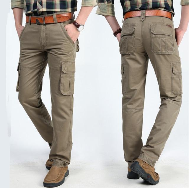 Новый NIANJEEP тактический Варгейм брюки-Карго мужские сельма Повседневные Брюки мужские мульти-карман военные брюки Боевые Бегуны Багги брюки