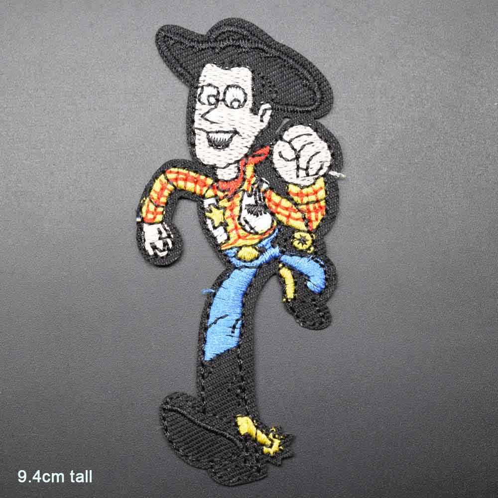История игрушек мультфильма Sherif Woody Iron на вышитой одежде нашивки для одежды наклейки одежда аксессуары