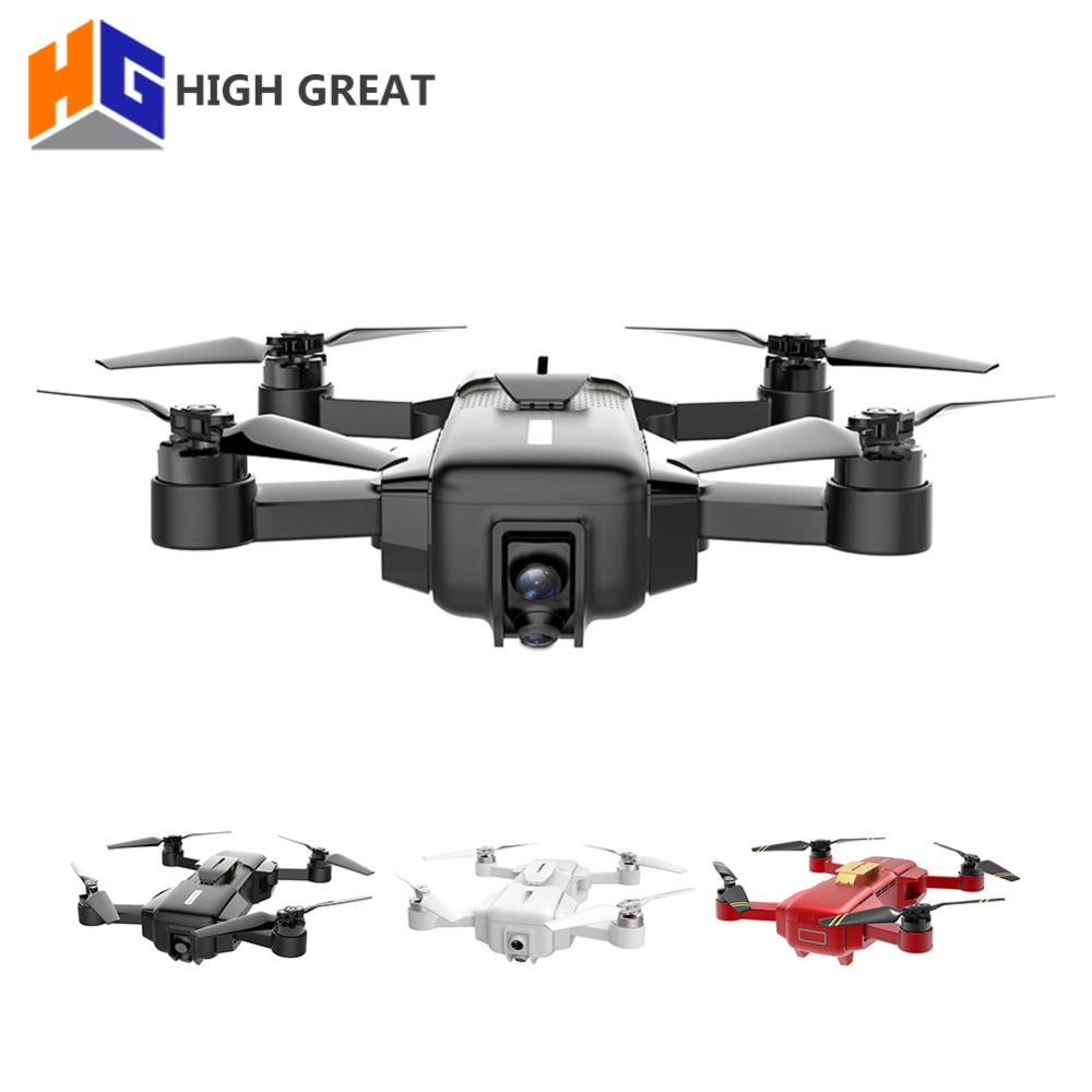 HIGH GREAT MARK 4K Drone FPV With 1080P HD Camera GPS VIO Positioning Smart Gimbal Camera Frame Foldable RC drohne VS Spark