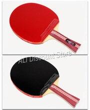 Dhs raquete de tênis de mesa 4002 4006 ping pong paddle tênis de mesa raquetes indoo esportes