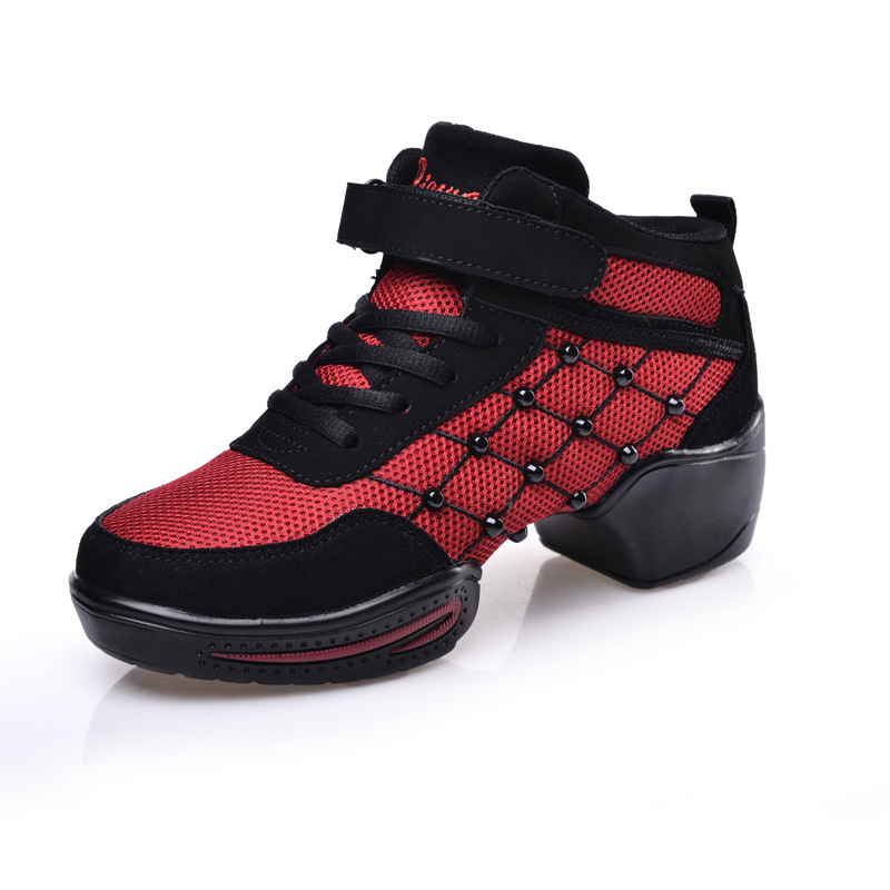 Girls' Soft Outsole Sports Breathable Rumba Dance Shoes Sneakers Woman Modern Practice Dance Jazz Hip Hop Street Shoes 1314