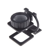 20X Foldable Magnifier Stand Measure Scale Loupe Magnifying Glass Portable