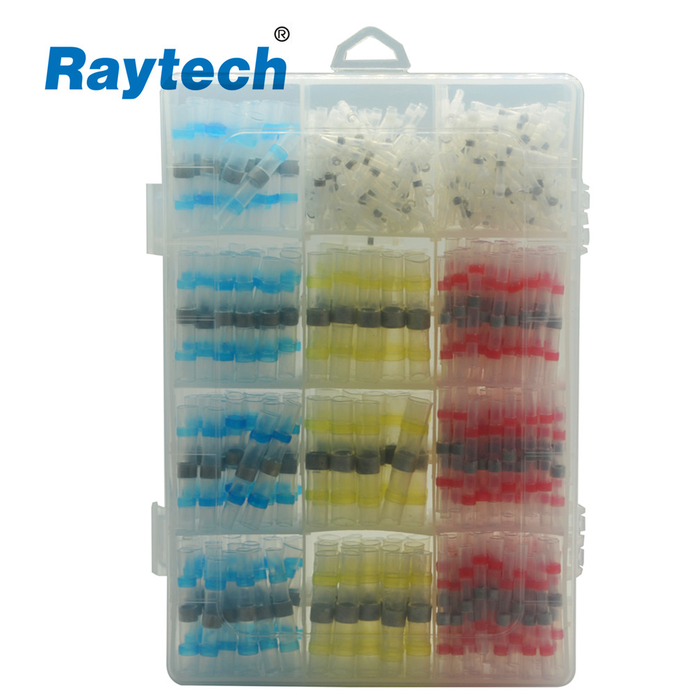 550PCS  mixed shrink solder sleeve wire connectors