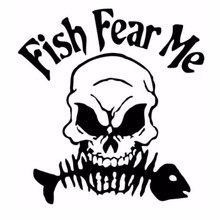 Fishing Sticker Name Skull Fish Decal Angling Hooks Tackle Shop Posters Vinyl Wall Decals Hunter Parede Decor Mural Sticker