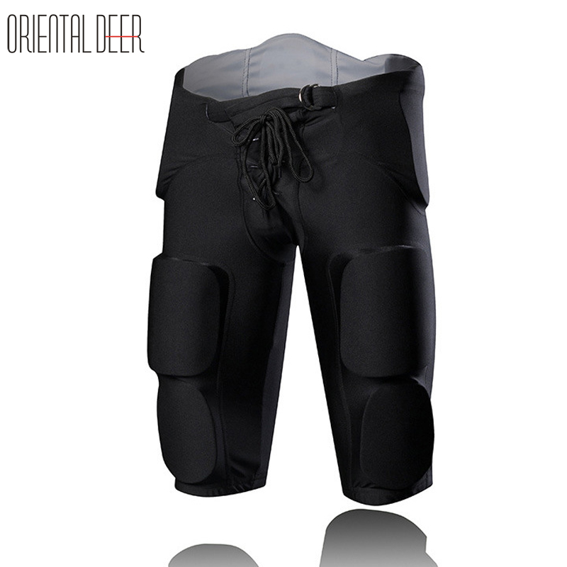 Men EVA Rugby Shorts Soccer Training Shorts Basketball Goalkeepers Shorts Sports Protection