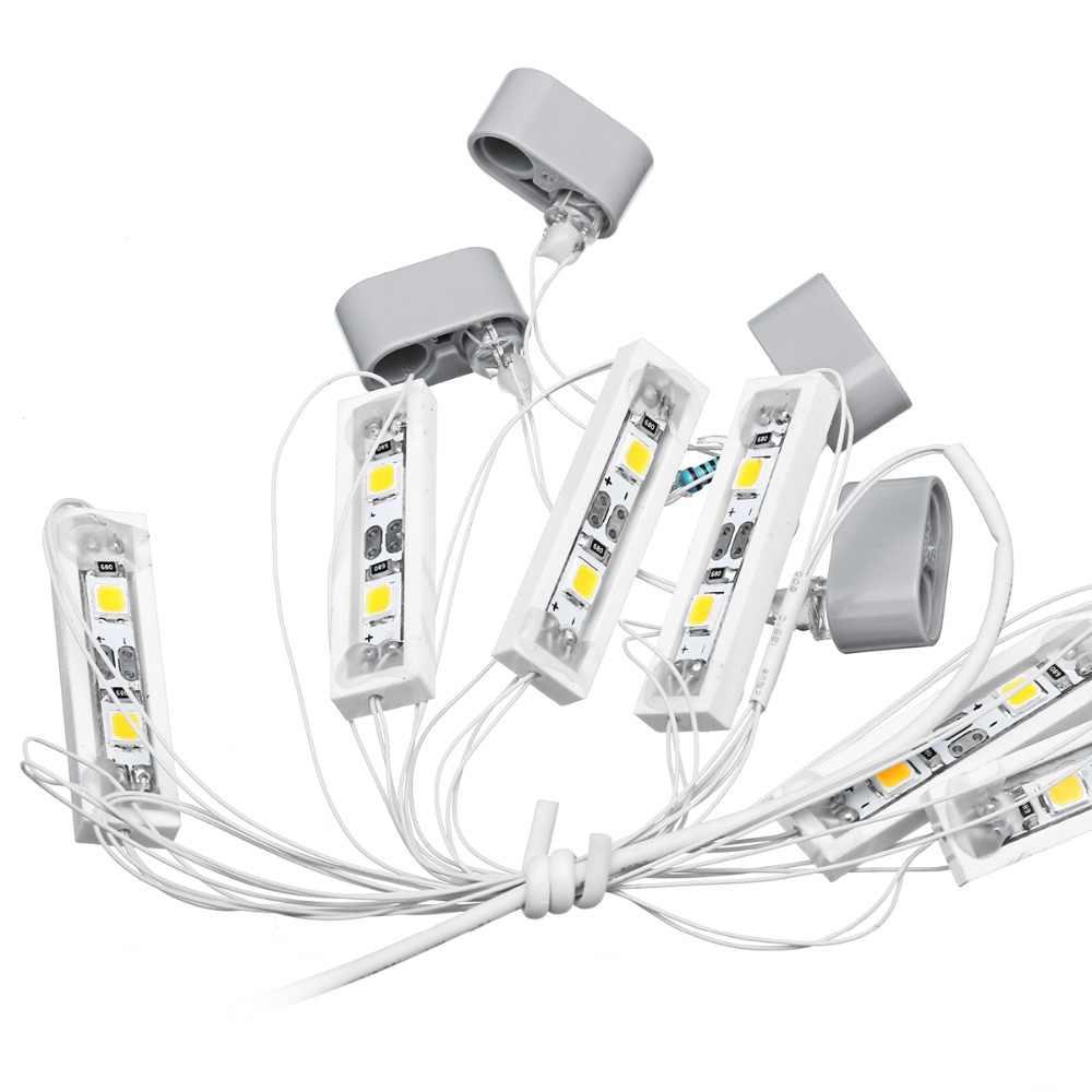 LED zestaw oświetlenia dla Lego przeznaczona do pojazdów miejskich, minivanów, dla 60051 wysokiej szybki pociąg pasażerski cegły zabawki (nie zawiera modelu) zestaw światła