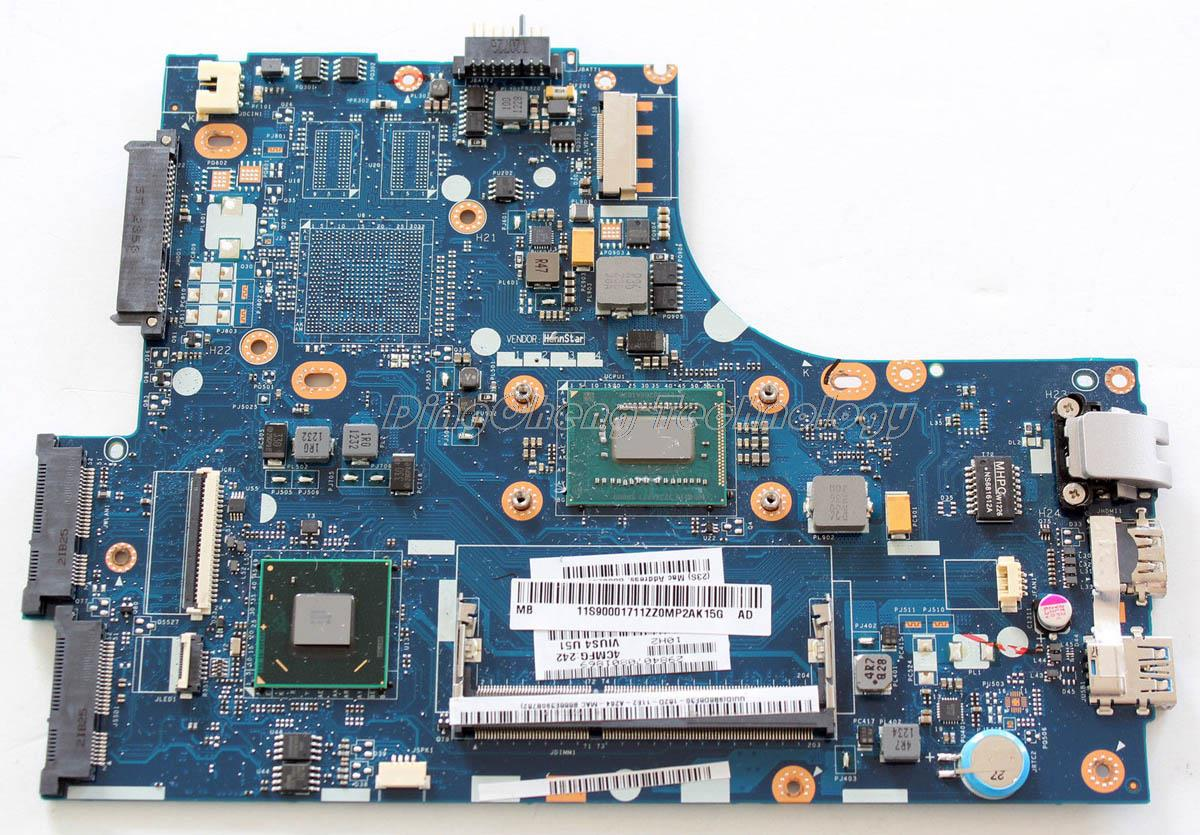 SHELI laptop Motherboard For Lenovo S400 VIUS3 VIUS4 LA-8951P I3-3217 integrated graphics card 100% fully tested