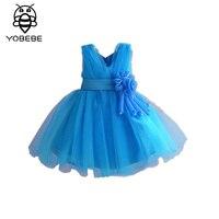 שמלות ילדה לחתונה תחרות לבן תחרת הקודש קודש הראשון את שמלת ערב מסיבת בנות פעוטות Junior שמלת ילד