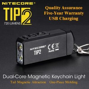 Image 1 - NITECORE TIP2 CREE XP G3 S3 720 Lumen USBชาร์จไฟฉาย