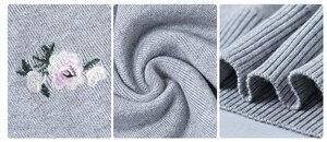 Image 5 - OHCLOTHING 2019 Herbst Pullover Frauen Stickerei Gestrickte Winter Frauen Pullover Und Pullover Weibliche Trikot Jersey Jumper Pull Femme