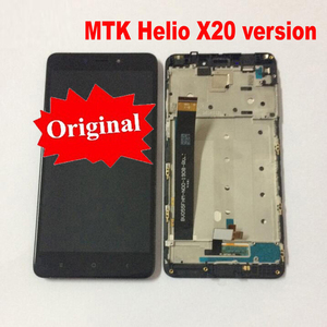 Оригинальный ЖК-дисплей, сенсорный экран, дигитайзер в сборе, датчик с рамкой для Xiaomi Redmi Note 4 Pro Prime, версия MTK Helio X20