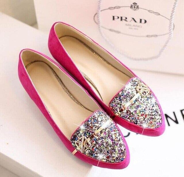 a39697272 Leather flat shoes Women shoes Woman cheap jordan shoes Red black size35-39 Free  shipping panama jack sapato feminino sapatos