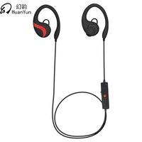 Huan Yun Sport Bluetooth Earphone Stereo Headset Waterproof Wireless Ear Hook Headphone With Mic HIFI Wireless