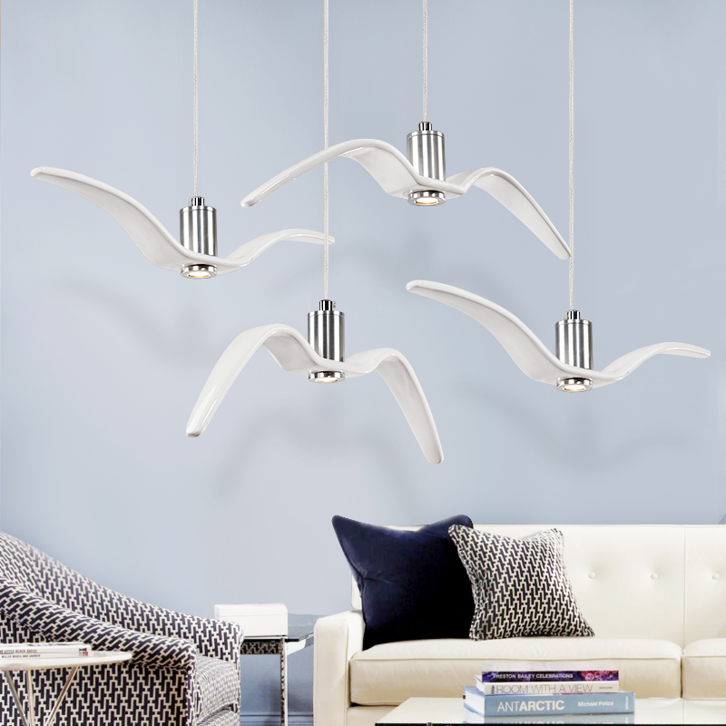 Horsten nordic modern creative sea gull pendant lights personality horsten nordic modern creative sea gull pendant lights personality seagull pendant lamp for bedroom dining room aloadofball Image collections