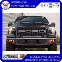 High quality network modified air intake grille for F150 2015 2016 2017