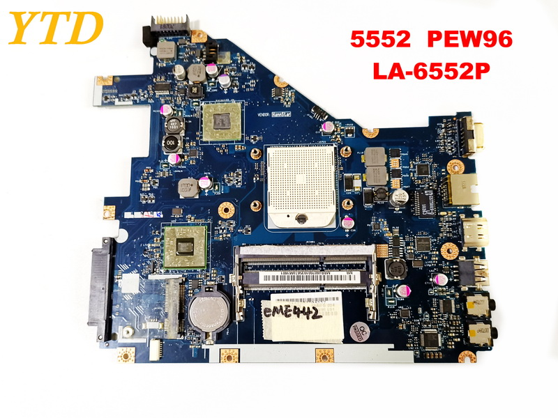 2019 Neuestes Design Original Für Acer 5552 5552g Laptop Motherboard 5552 5552g Pew96 La-6552p Getestet Gute Freies Verschiffen